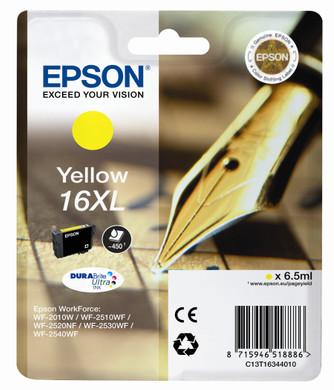 Epson 16 XL Inktcartridge Geel C13T16344010