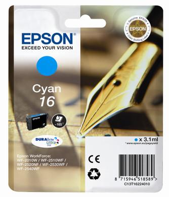 Epson 16 L Inktcartridge Blauw C13T16224010