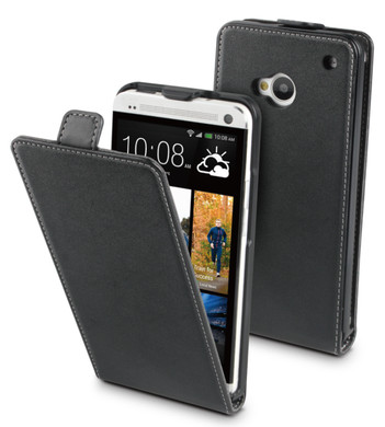 Muvit Slim Case HTC One Zwart