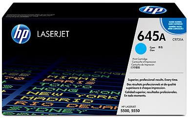 HP 645A LaserJet Toner Cyaan (C9731A)