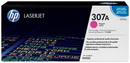HP 307A LaserJet Toner Magenta (CE743A)