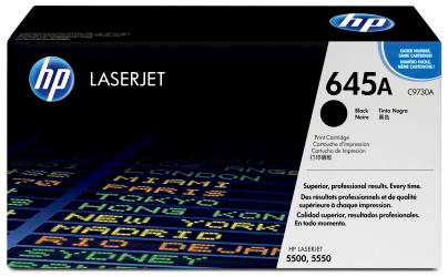 HP 645A LaserJet Toner Zwart (C9730A)