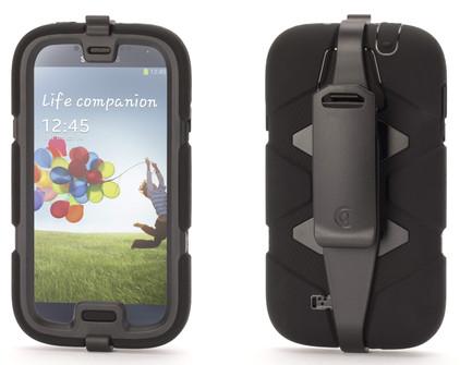 Griffin Survivor Case Samsung Galaxy S4 Zwart