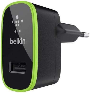 Belkin Thuislader USB 2,1A Green Ring Black