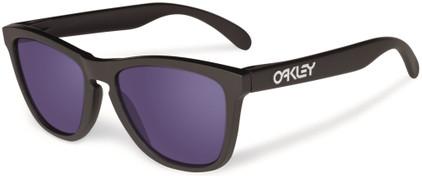 Oakley Frogskin Matte Black/Violet Iridium