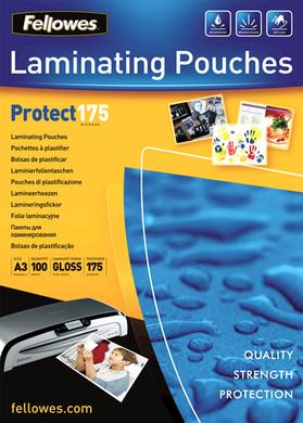 Fellowes Lamineerhoezen Protect 175 mic A3 (100 stuks)