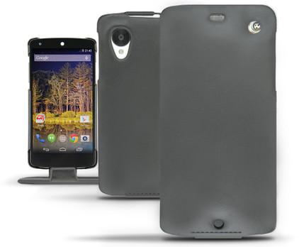Noreve Tradition Leather Case LG Nexus 5 Zwart