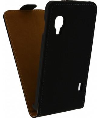 Mobilize Ultra Slim Flip Case Motorola Moto G (Gen 1) Zwart