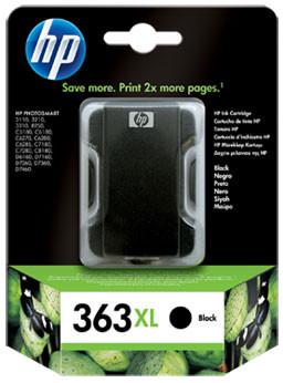 HP 363XL Cartridge Zwart  (C8719E)