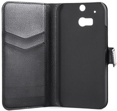 Xqisit Slim Wallet Case HTC One M8 Zwart