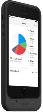 mophie Space Pack 32GB Apple iPhone 5/5S/SE Zwart