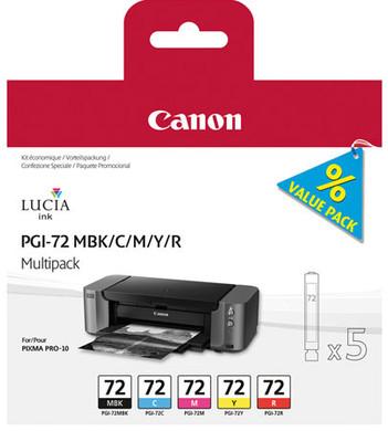 Canon PGI-72 Value Pack B 5-kleuren (6402B009)