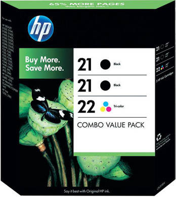 HP 21/22 Value Pack 4-Kleuren (SD400AE)