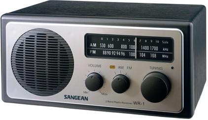 Sangean WR-1 Zwart