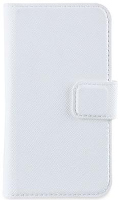 Muvit Wallet Case iPhone 4 / 4S Wit