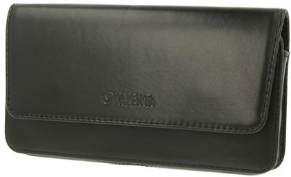 Valenta Leather Case Arezzo 5XL Zwart