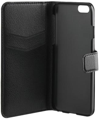 Xqisit Slim Wallet Case iPhone 6/6s Zwart