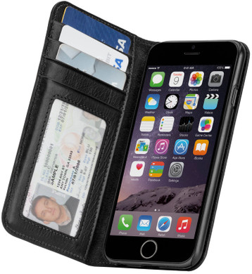 Case-Mate Wallet Folio Case Apple iPhone 6/6s Zwart