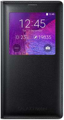 Samsung Galaxy Note 4 S View Cover Classic Black