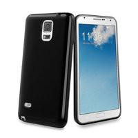 Muvit Minigel Case Samsung Galaxy Note 4 Zwart