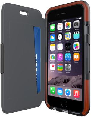 Tech21 Classic Shell Wallet Apple iPhone 6 Plus/6s Plus Zwart