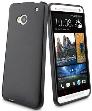 Muvit Minigel Case HTC One Zwart