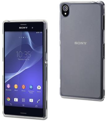 Muvit Minigel Case Sony Xperia Z3 Transparant