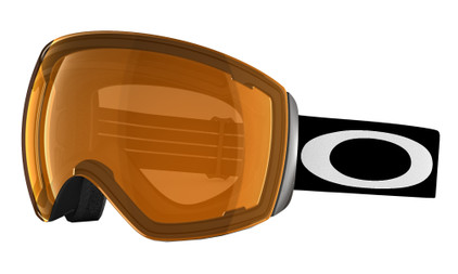 Oakley Flight Deck Matte Black + Persimmon Lens