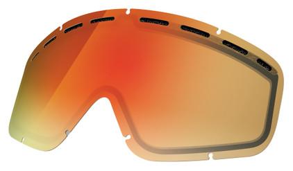 Electric EGV Lens Bronze/Red Chrome
