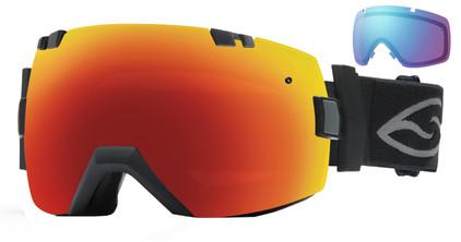 Smith I/OX Black / Red Sol-X & Blue Sensor