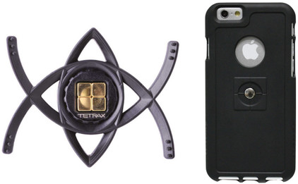 Tetrax Smart + Xcase Apple iPhone 6 Plus Zwart