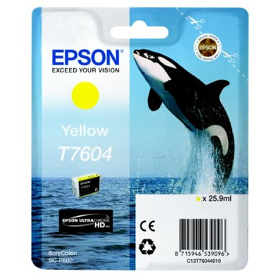 Epson T7604 Cartridge Geel C13T76044010