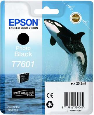 Epson T7601 Cartridge Foto Zwart C13T76014010