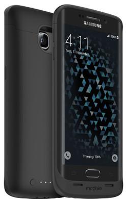 mophie Juice Pack Samsung Galaxy S6 edge Zwart