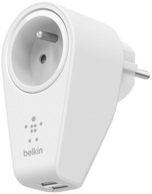 Belkin 2-poort Thuislader met stopcontact