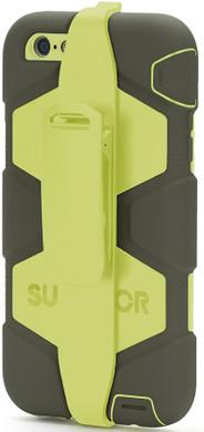 Griffin Survivor All Terrain Apple iPhone 6 Plus/6s Plus Zwart/Geel