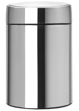 Brabantia Slide Bin 5 Liter Matt Steel Fingerprint Proof
