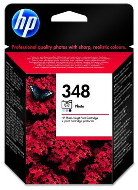 HP 348 Fotocartridge Zwart (HPC9369E)