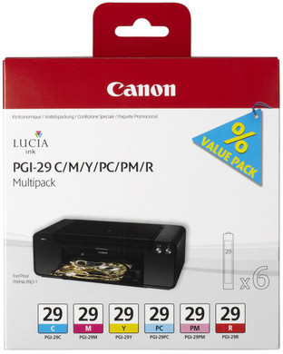 Canon PGI-29C/M/Y/PC/PM/R Multipack (4873B005)