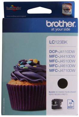 Brother LC-123BK Black (zwart)
