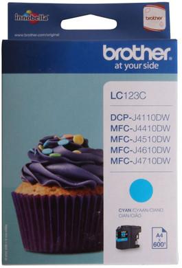 Brother LC-123C Cyan (blauw)