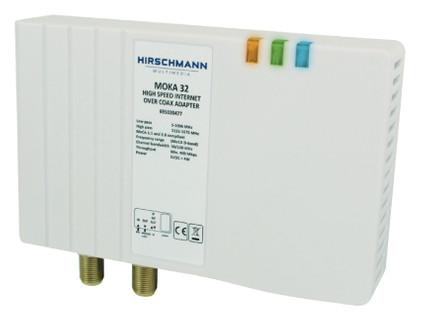 Hirschmann Moka 32 coax multimedia-adapter