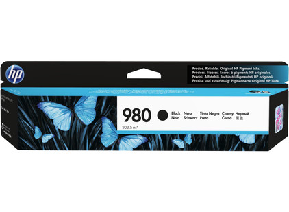 HP 980 Cartridge Zwart (D8J10A)