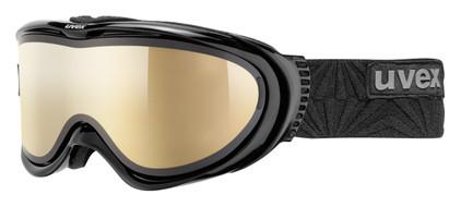 Uvex Comanche TOP Black + LTM Gold & Polavision Clear Lenzen