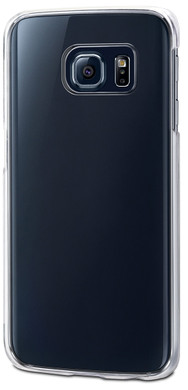 Muvit Crystal Samsung Galaxy S6 Edge Back Cover Transparant