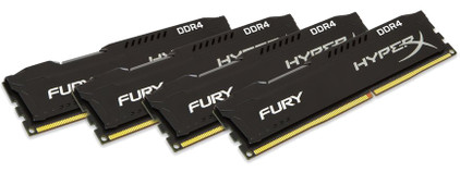 Kingston HyperX Fury 32 GB DIMM DDR4-2133 4 x 8 GB