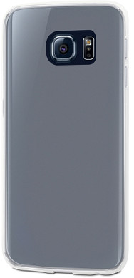 Muvit Crystal Soft Galaxy S6 Edge Back Cover Transparant