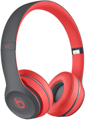 Beats Solo 2 Wireless Rood/Grijs