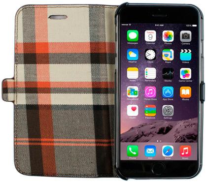 Imoshion Moyland Book Case Apple iPhone 6/6s Bruin