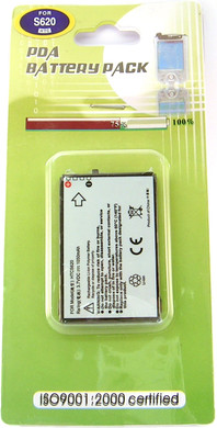 Veripart Battery HTC S620 1050 mAh + Thuislader